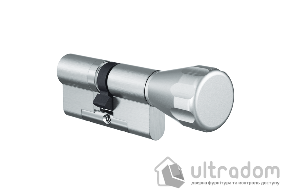 Цилиндр дверной EVVA 4KS ключ-вороток, 87 мм
