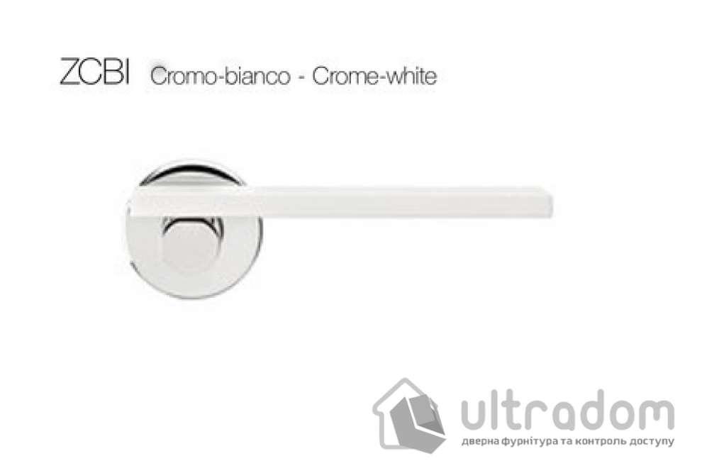 Дверная ручка DND by Martinelli MINIMA - хром-белый ZCBI