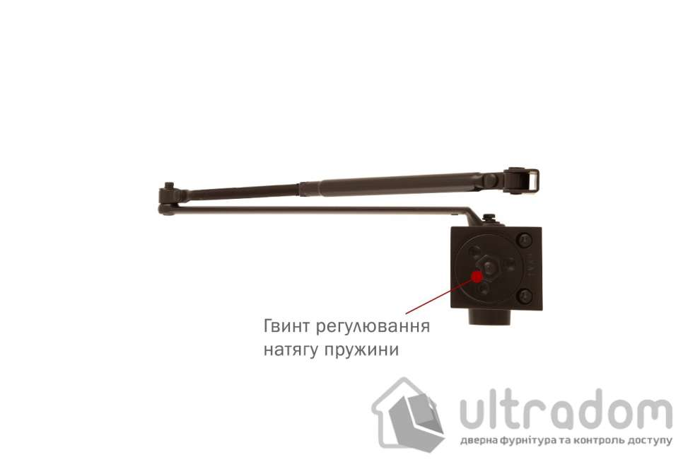 Доводчик дверной RYOBI B1006 BC EN6 дверь до 140 кг