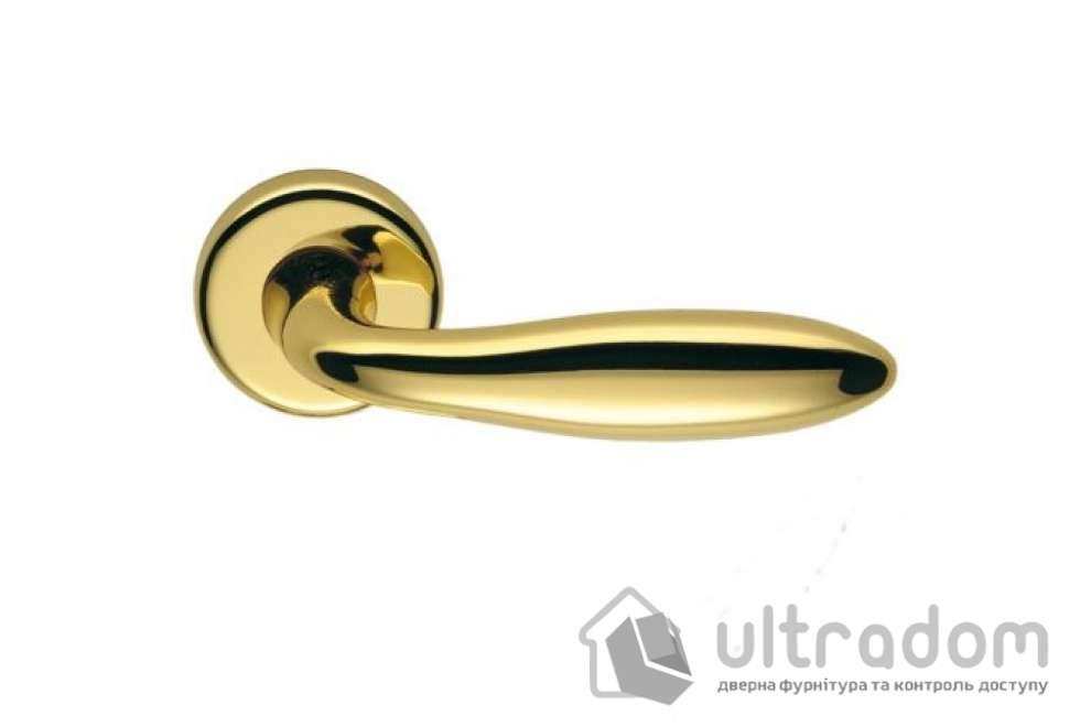 Дверная ручка COLOMBO Mach CD 81 (Титан/золото)