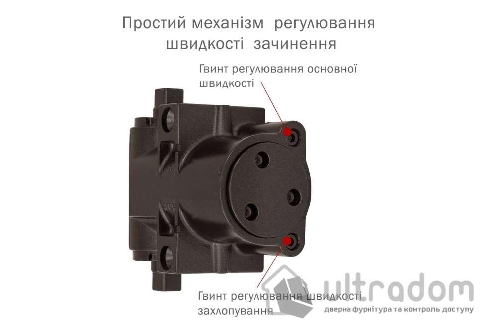 Доводчик дверной RYOBI DS-4550 BC/DA EN2-7+ дверь до 200 кг