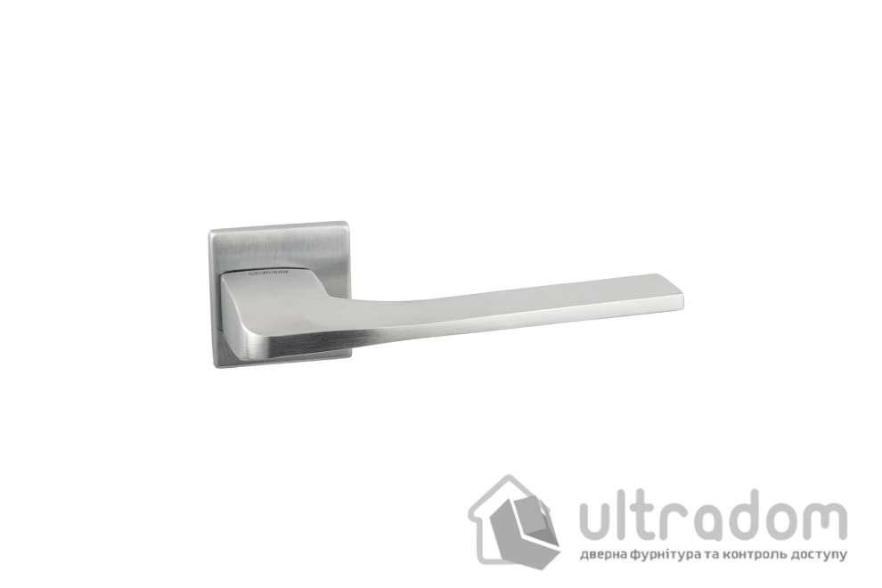 Дверная ручка на розетке Unique SIMPLY матовый хром (SIMRO54SB-2B)