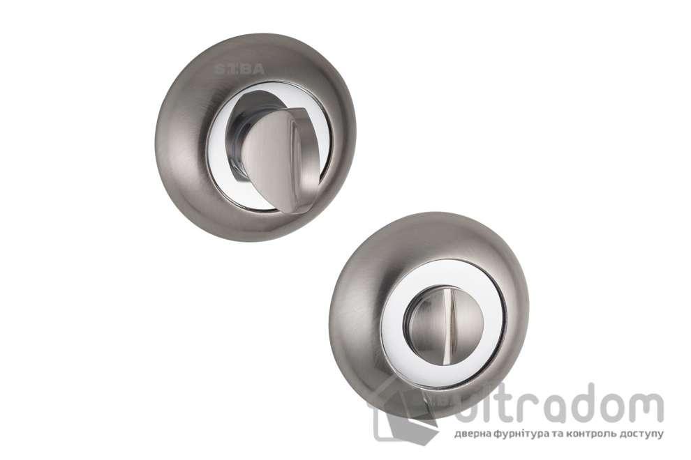 Фиксатор WC SIBA R02 матовый никель - хром 22 07