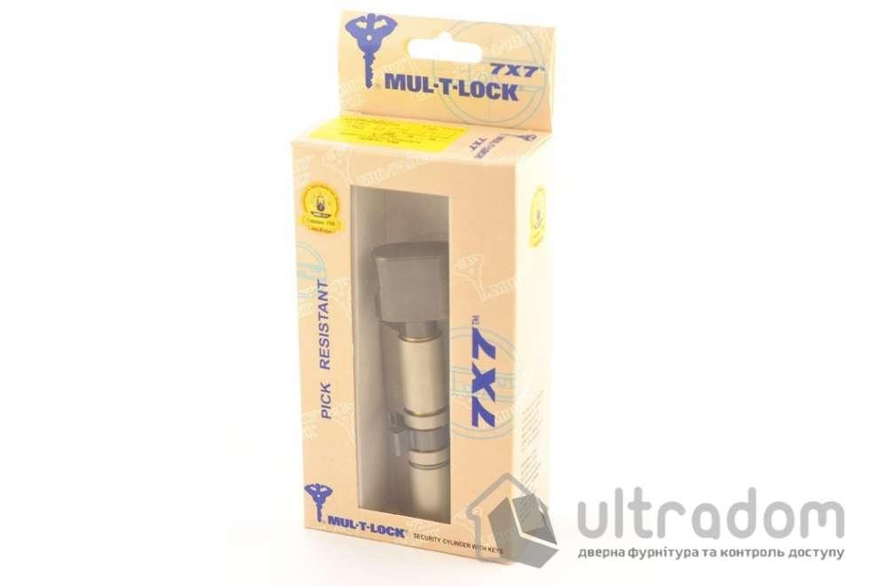 Цилиндр дверной Mul-T-Lock 7x7 кл-вороток., 115 мм