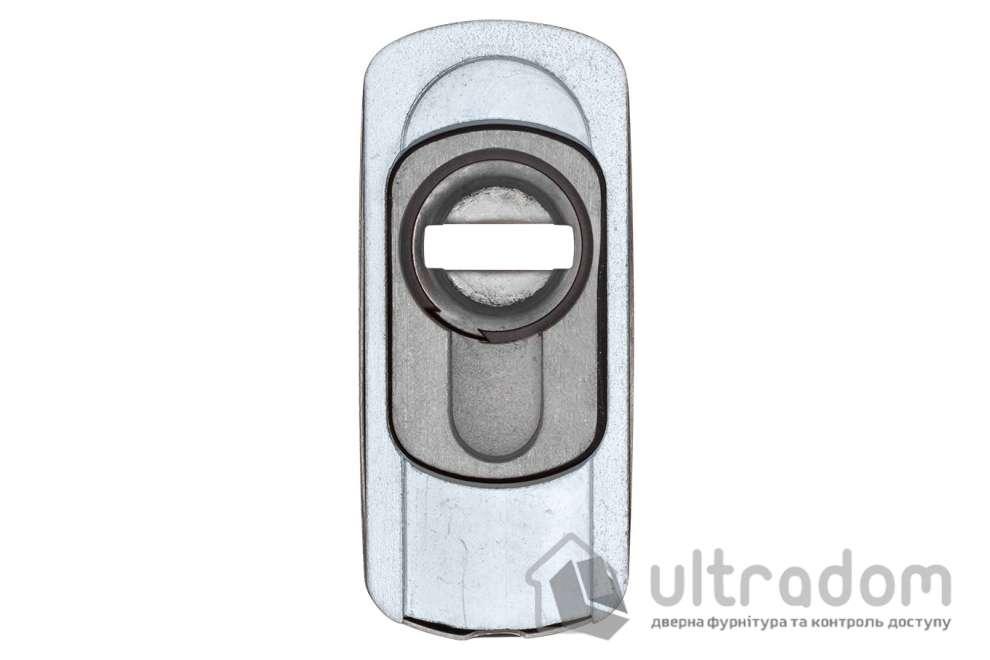 Протектор защитный DISEC GUARD SG15 OVAL для профильных дверей, нержавеющая сталь