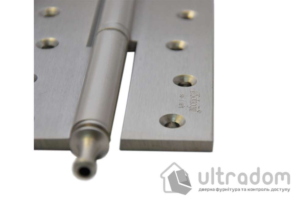 Петли дверные усиленные Sofuoglu 160 мм., цвет - матовый никель