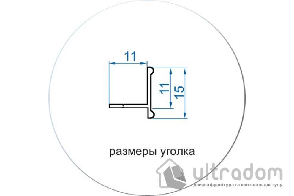 Комплект фурнитуры для 1 дополнительной двери Valcomp ARES 3