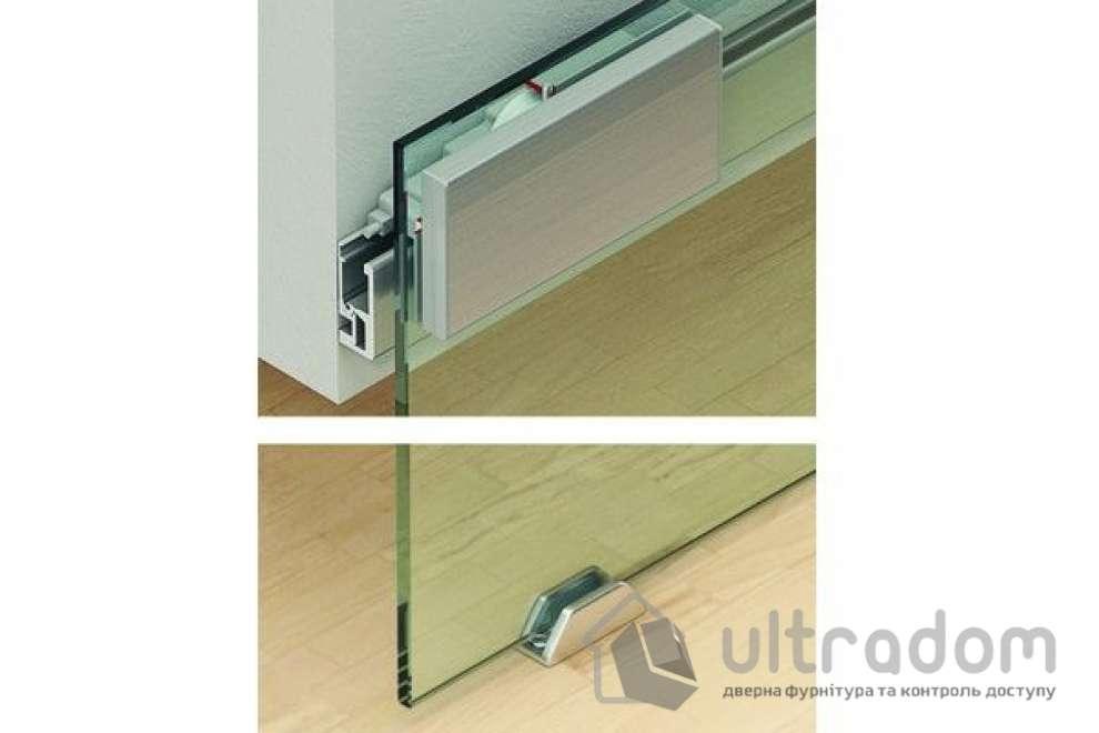 HAFELE дизайнерская раздвижная система для стекла Slido Classic Design 40 -80V
