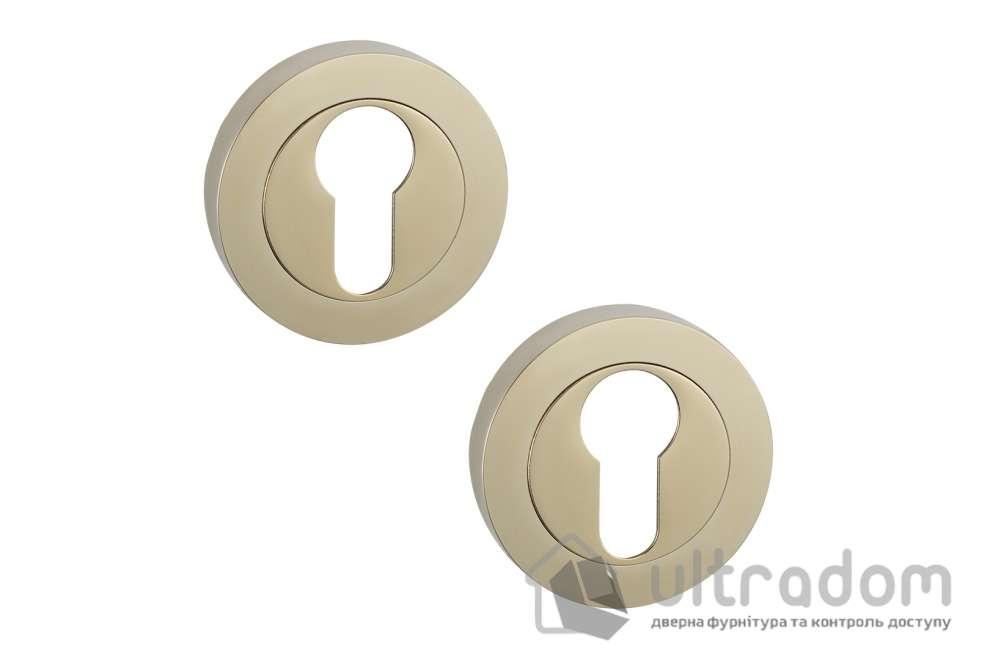 Накладки под цилиндр PZ SIBA R04 золото PVD 03 03