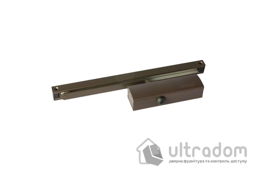 Дверной доводчик GEZE TS1500 G EN1-2, слайдовая тяга, дверь до 40 кг.