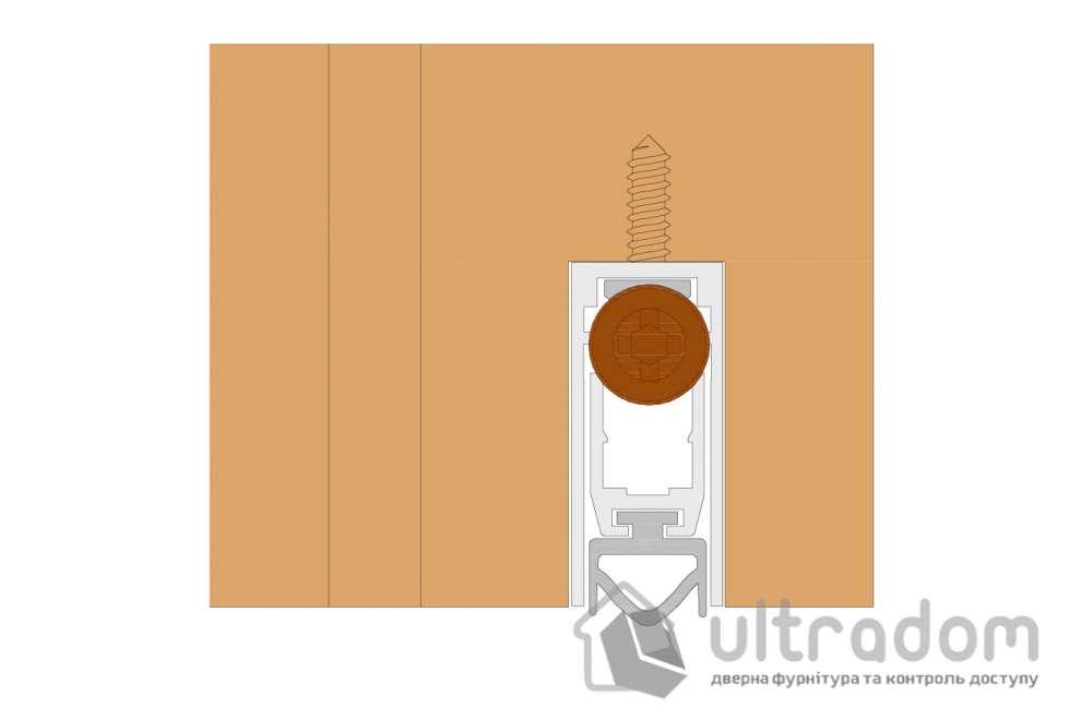 Автоматический врезной дверной порог Comaglio m.420, 30-103 см