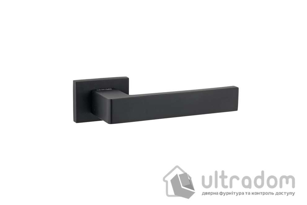 Дверная ручка UNIQUE 355 ALU черная