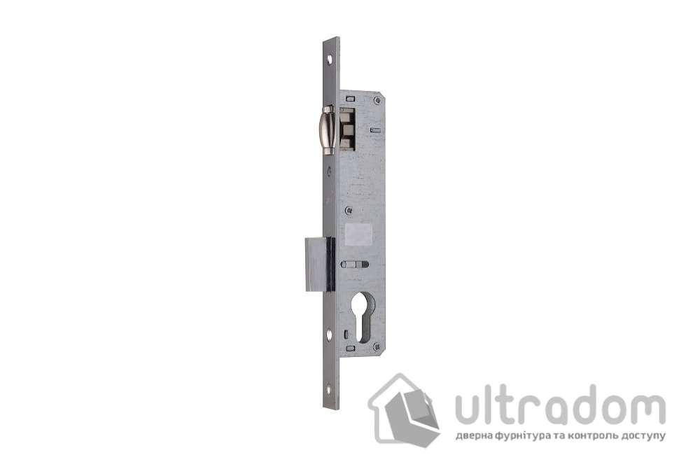 Корпус замка с роликом SIBA 10055-30 для алюминиевой двери.