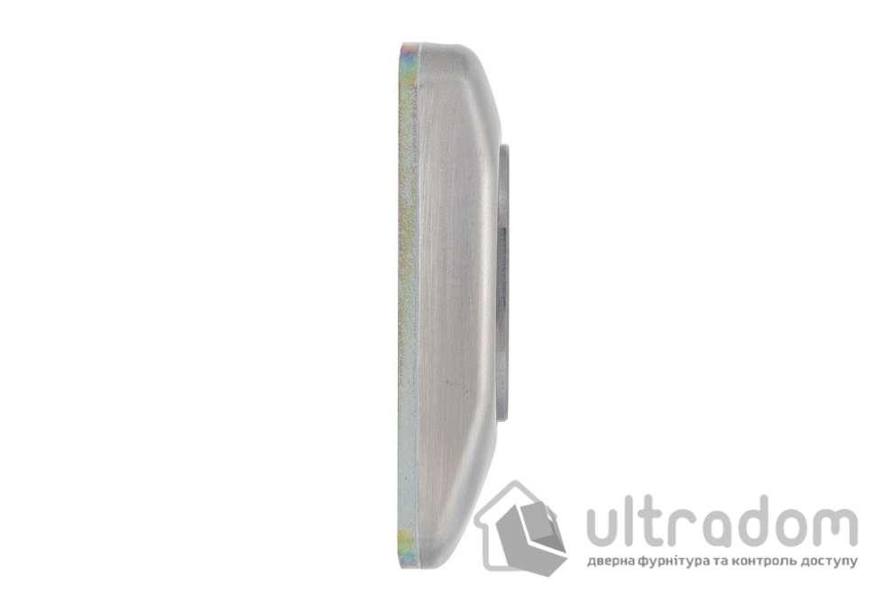 Бронекладка для цилиндра DISEC SG16 GUARD 3 класс 25 мм хром матовый