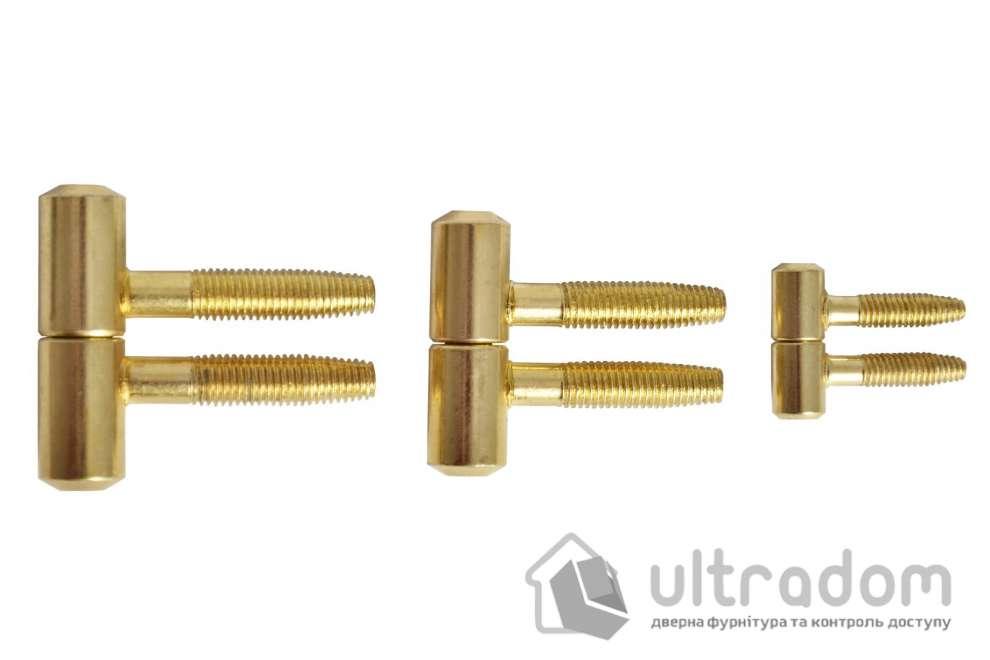 Петля ввертная AGB 2-х штыревая, 9 мм, цвет - бронза.
