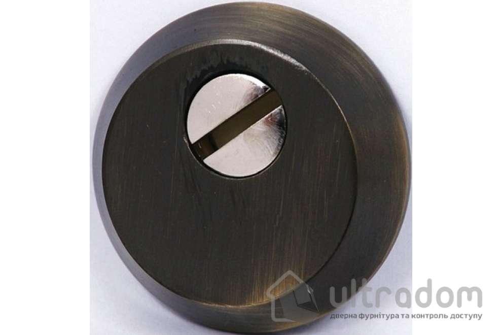 Броненакладка для цилиндра SIBA S400, античная бронза AB