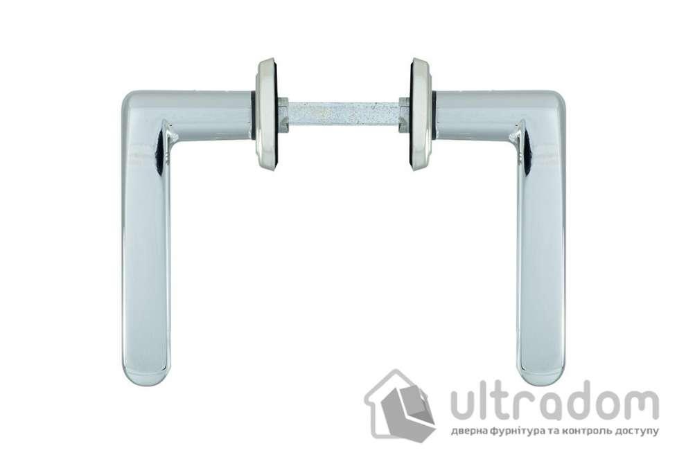Дверная ручка ROSTEX KREDO  WC ручка-ручка 72 мм хром сатин
