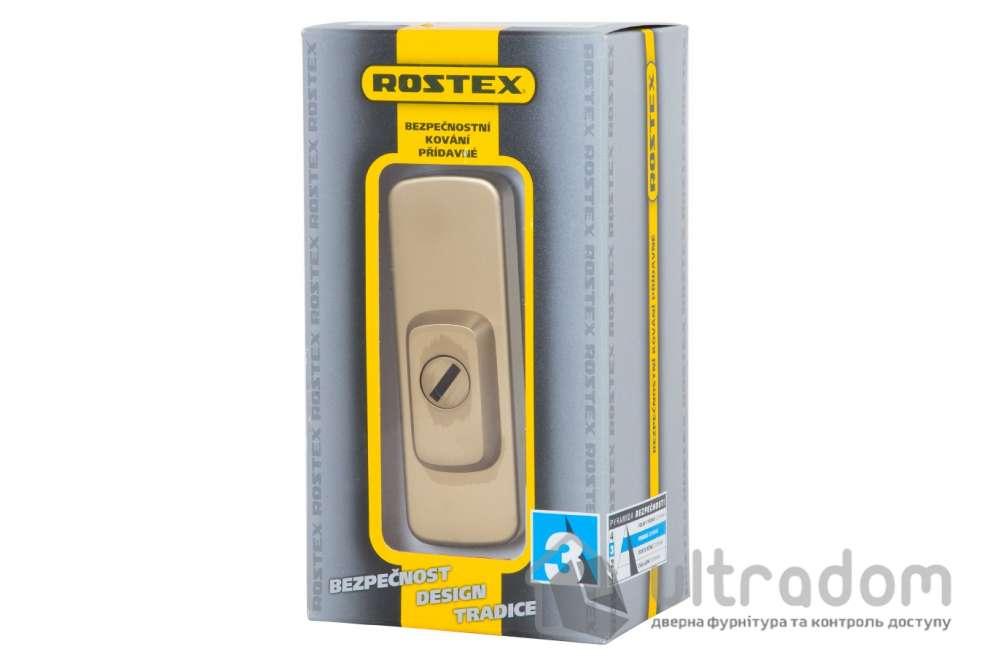 Броненакладка ROSTEX Astra DIN PLATE 22мм, матовый титан PVD