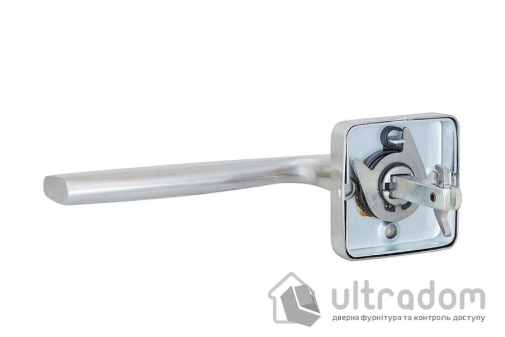 Дверная ручка ROSTEX NOVARA H50 нержавеющая сталь