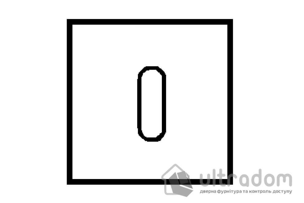TUPAI накладка для ключа буратино BB квадратная, мод. 4048Q