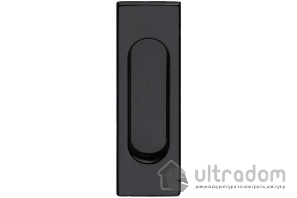 Ручки - ракушки для раздвижных дверей DND by Martinelli Rettangolare черный