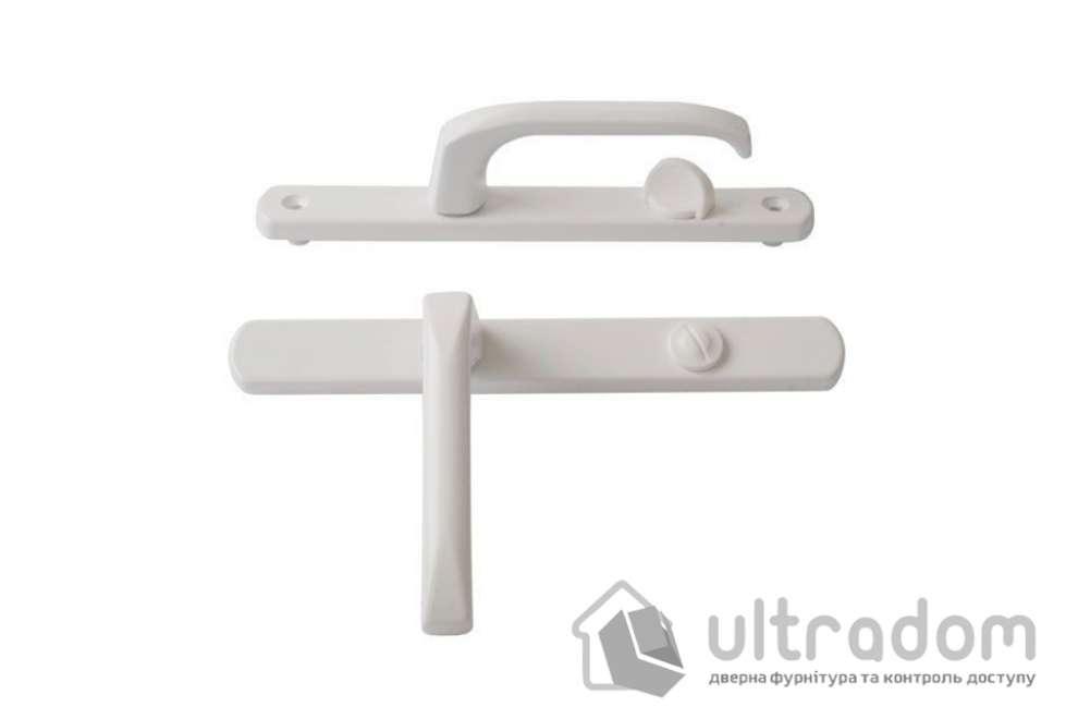 Нажимной гарнитур сантехнический IMAT 90/25 мм, белый