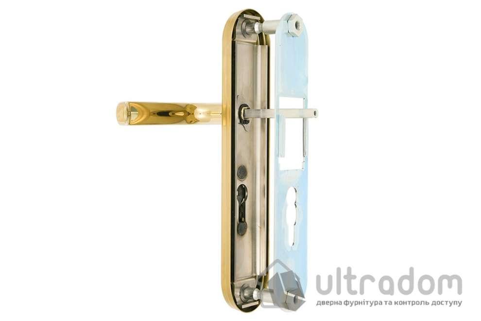 Фурнитура защитная ROSTEX R1 Universal 3 класс  латунь  с фикс. ручкой 85 - 90