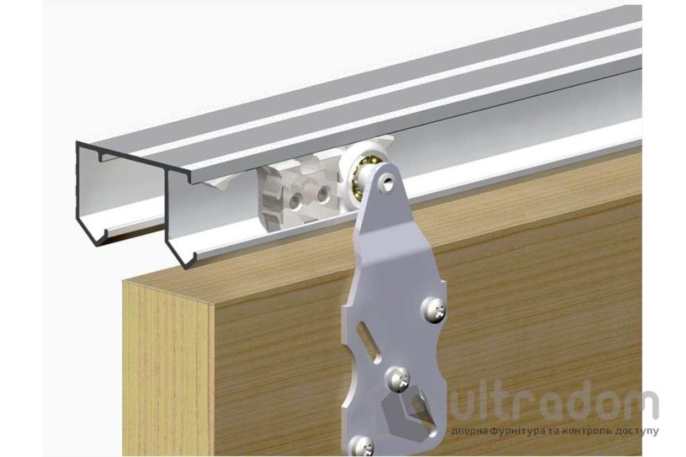 Valcomp HORUS комплект подвесной системы для 2-ух раздвижных дверей шкафов