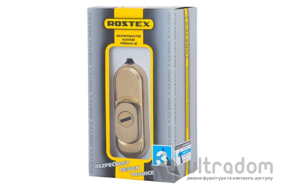Броненакладка ROSTEX Decor R3 DIN PLATE 22 мм матовый титан PVD