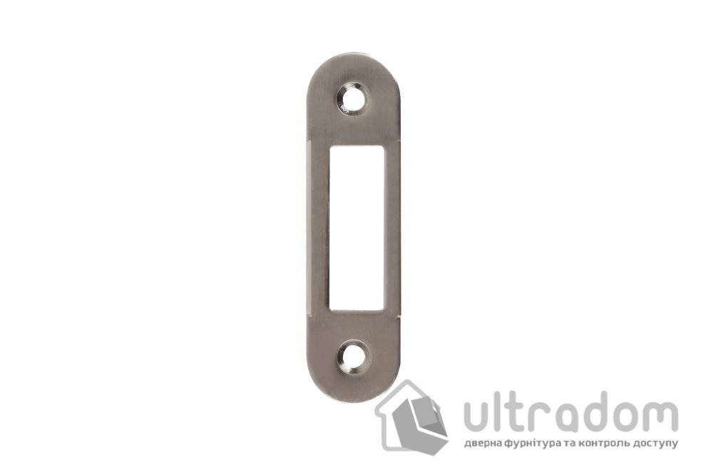 Ответная планка для замка SIBA SP5 SN без отбойника, цвет - матовый никель
