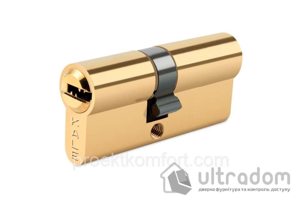 Цилиндр дверной KALE 164  BNE ключ-ключ 110 мм латунь