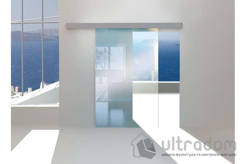 Valcomp Herkules Glass Комплект раздвижной системы для стеклянной двери до 100 кг.