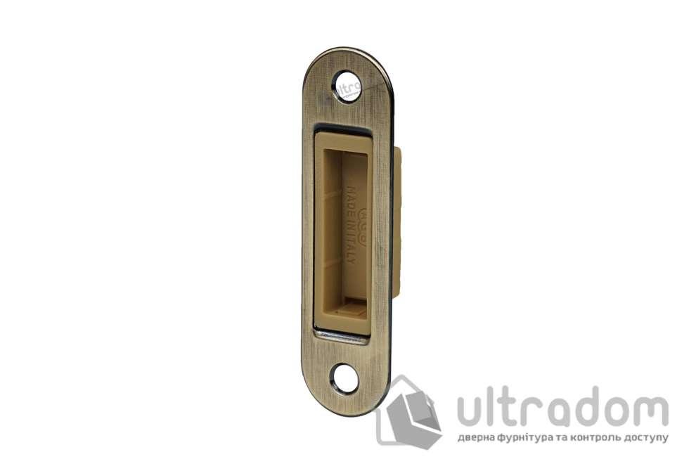 Ответная планка для магнитных замков AGB Easy-FiX, цвет - античная бронза