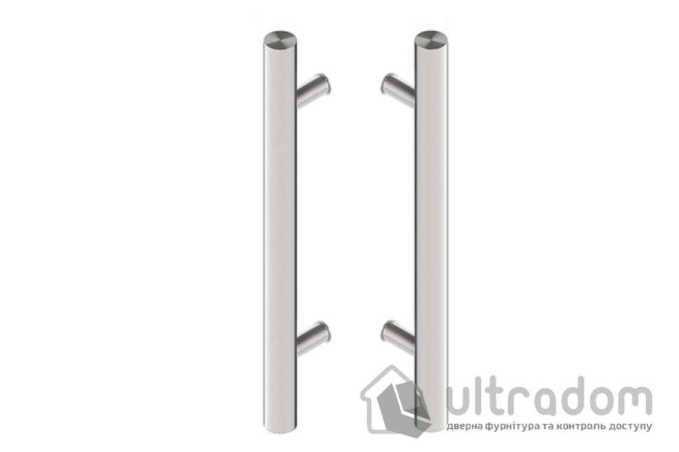 Дверная ручка-скоба Wala P10 нержавеющая сталь Ø40 мм двухсторонняя