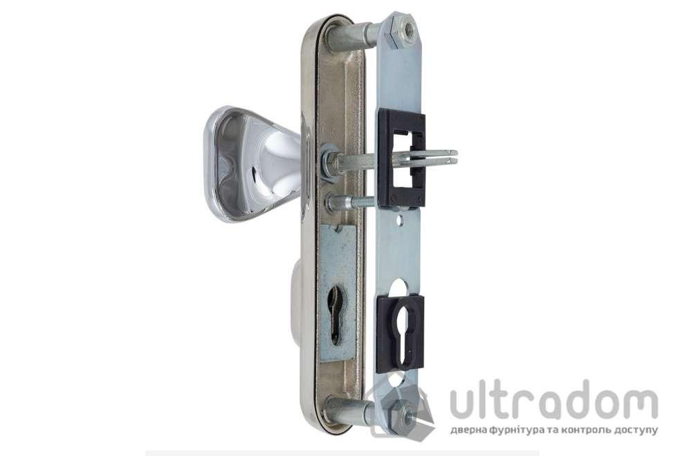 Фурнитура защитная ROSTEX R1 Decor 4 класс  хром полир. с фикс. ручкой 72-85-90
