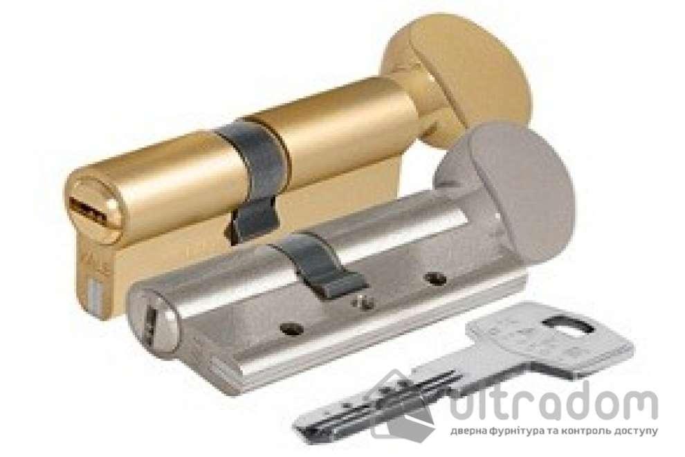 Цилиндр дверной KALE 164 DBNE ключ-вороток 90 мм