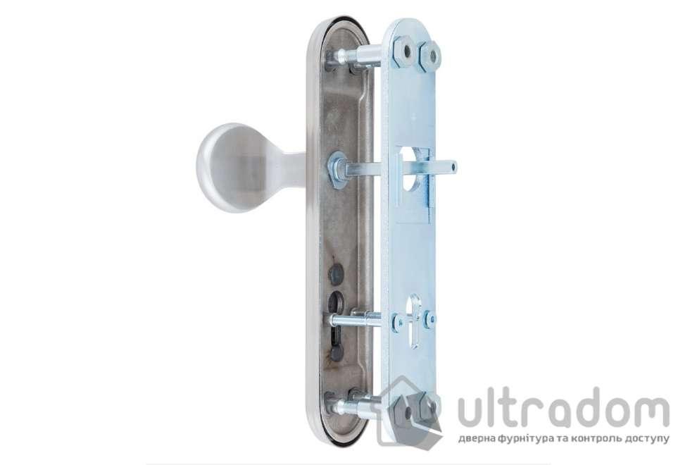Фурнитура защитная ROSTEX R1 Solid-Pro 4 класс с фикс. ручкой нерж. сталь 85 - 90