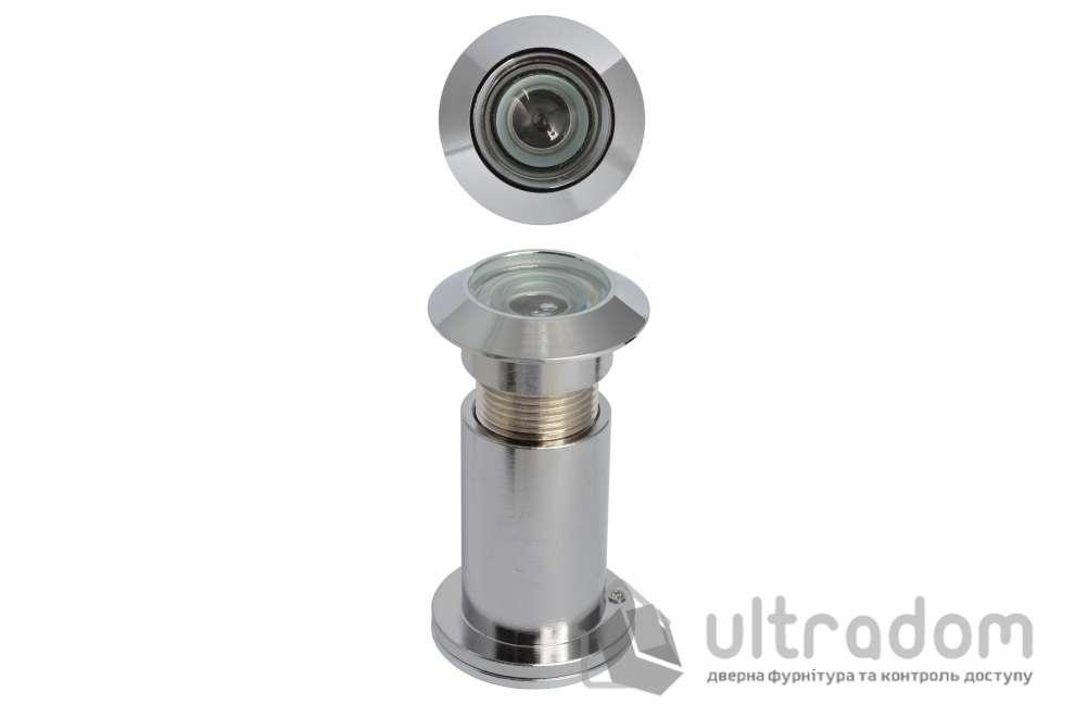 Дверной глазок Д-27 мм, латунный, 65-90 мм
