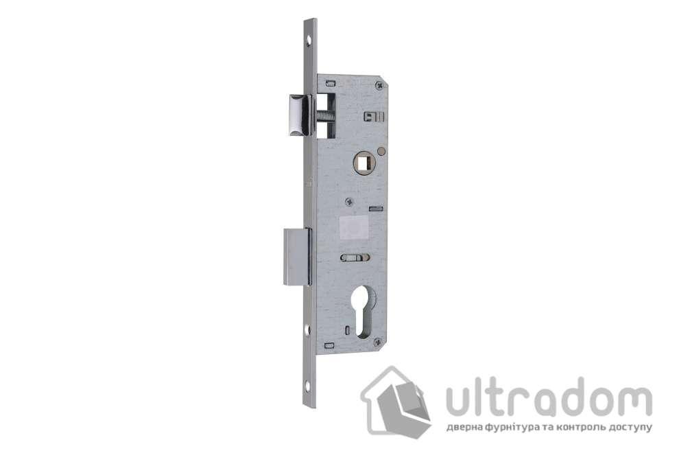 Корпус замка с защелкой SIBA 10053P-35 для металлопластиковой двери.