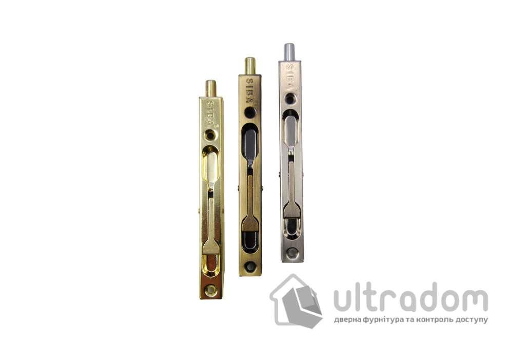 SIBA Торцевой перекидной шпингалет 140 мм SN матовый никель