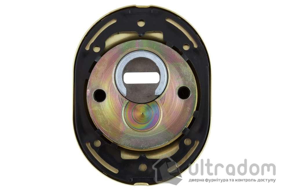 Протектор защитный DISEC  BDS16  SFERIK 3 класс 25 мм латунь матовая