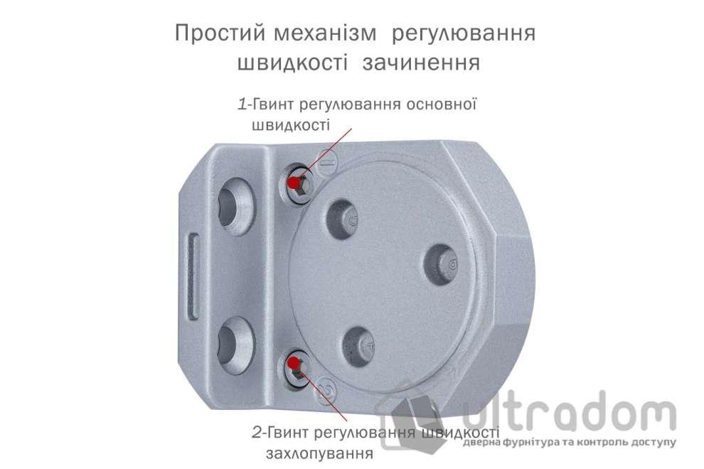 Доводчик дверной Ryobi DS-3554T BC/DA EN2-4 дверь до 85 кг