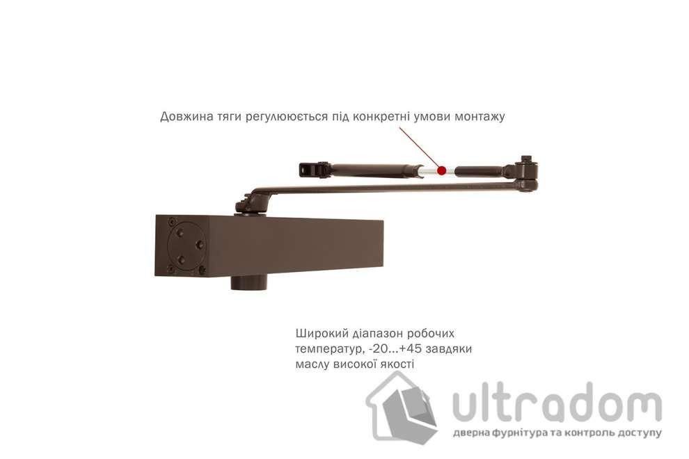 Доводчик дверной RYOBI B1000V BC/DA EN2-5 дверь до 120 кг