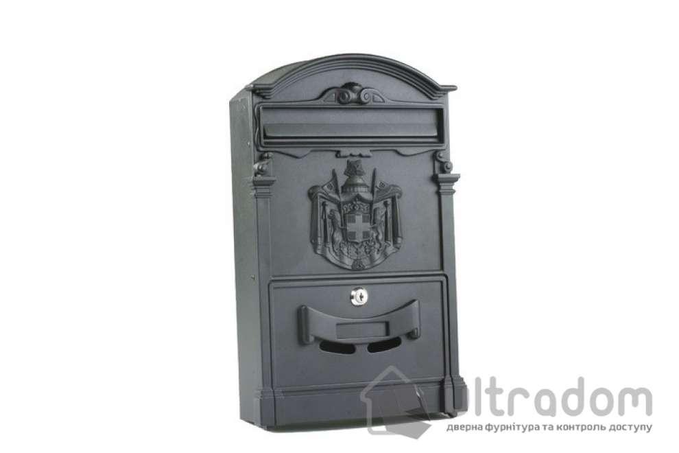 Декоративный почтовый ящик Amig m.4, цвет - чёрный