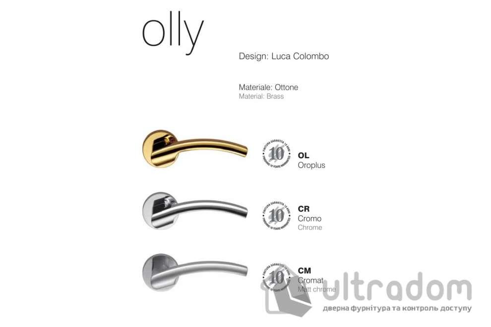 Дверная ручка COLOMBO Olly LC 61 матовый хром