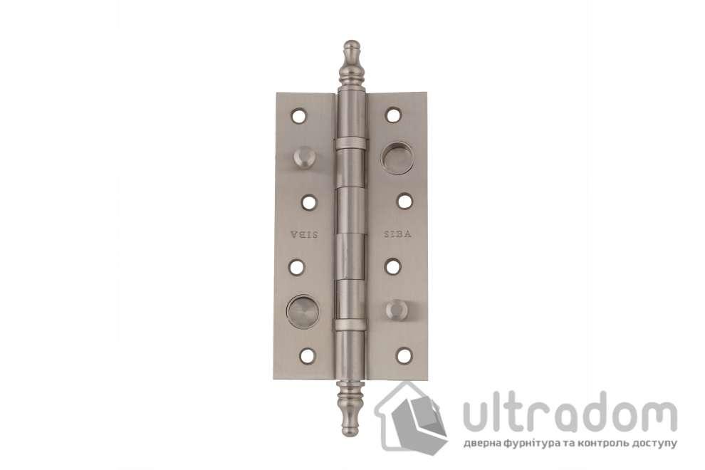 Дверные петли усиленные SIBA 150 мм., цвет - матовый никель
