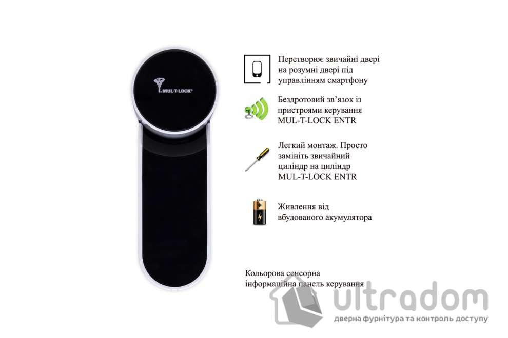 Електронний контролер MUL-T-LOCK ENTR белый с Touchpad доступ по коду