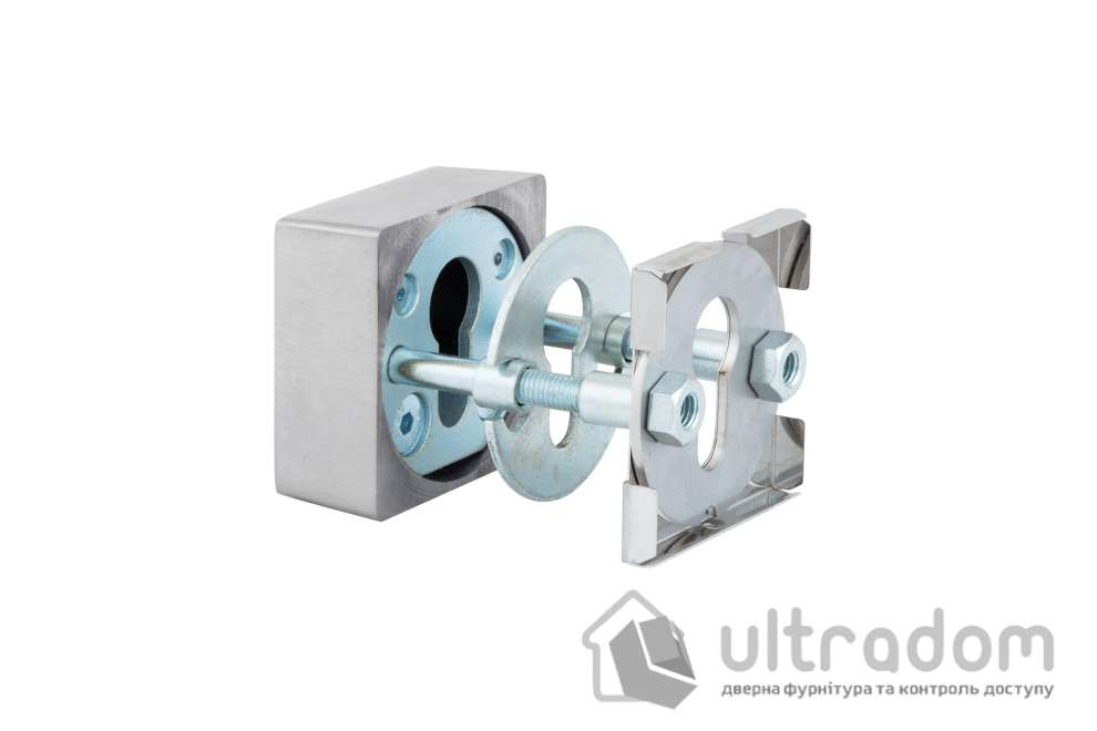 Броненакладка ROSTEX Quadrum R3/H DIN SQUARE 23 мм, нержавеющая сталь