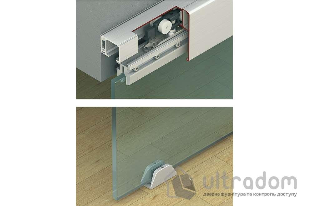 HAFELE  раздвижная система для стекла Slido Classic Design 80M