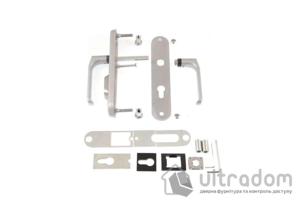 Фурнитура защитная ROSTEX R4 Decor 4 класс  матовый хром 72-85-90